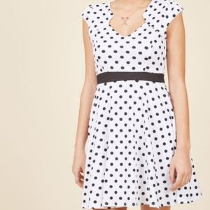 Modcloth Size 4X Polka Dot Retro Style Dress